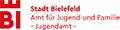 gefördrt durch das Jugendamt der Stadt Bielefeld